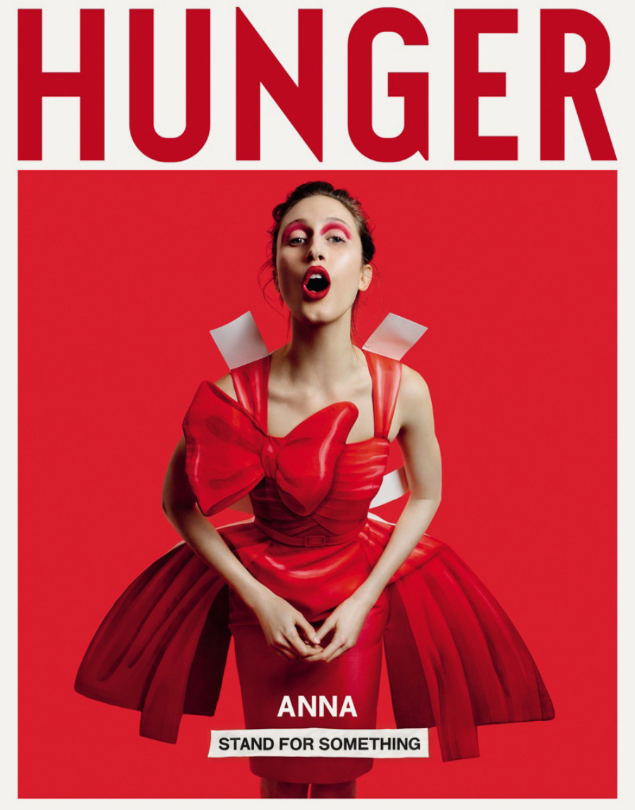 Anna Cleveland Hunger Magazine 2017 Cover Editorial01